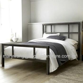 Wholesale Factory Price Elegant Design Steel Bed Metal Bed - Buy .