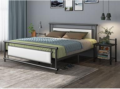 RAMA DYMASTY metal bed iron bed modern design bed/ fashion king .