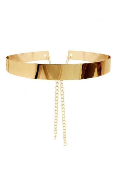 metal belt with chains (With images) | Gold metal belt, Metal belt .