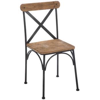 Farmhouse Rustic Metal Chair | Hobby Lobby | 17183