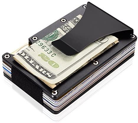 Amazon.com: Aluminum Wallets for Men, LOOKISS RFID Minimalist .