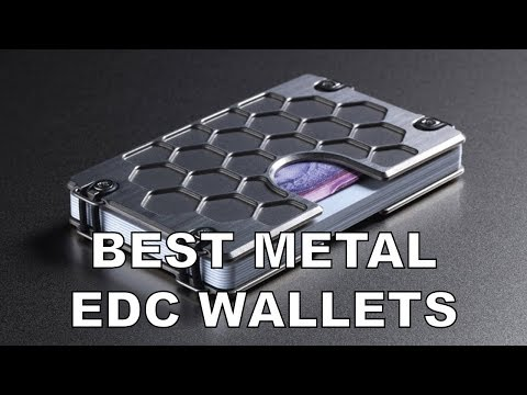 The Best Metal Wallets for EDC in 2020 | Everyday Car