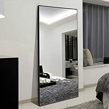 "Amazon.com: H&A 65""x24"" Full Length Mirror Bedroom Floor Mirror ."