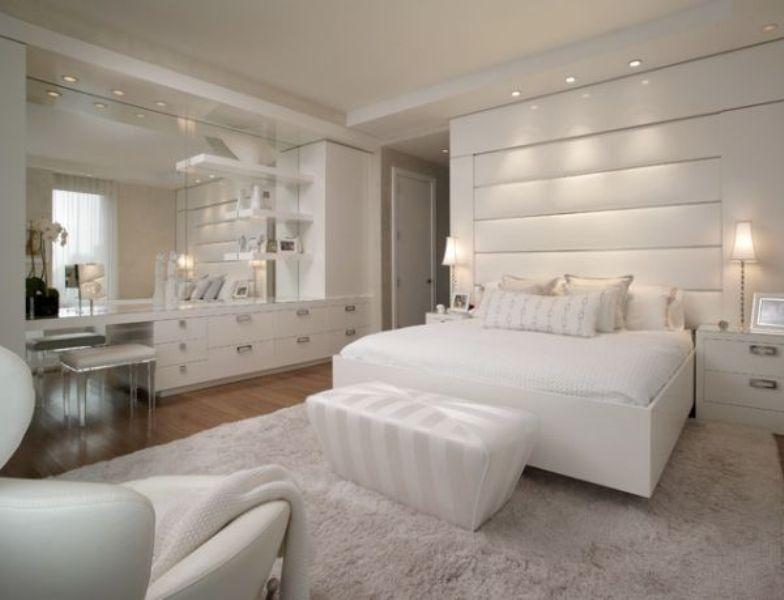 bedroom wall mirror white design – Architecture Decorating Ide