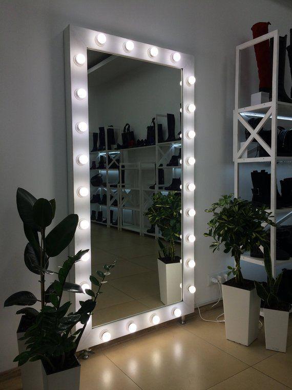 Vanity mirror with lights, Makeup mirror, Hollywood vanity mirror .