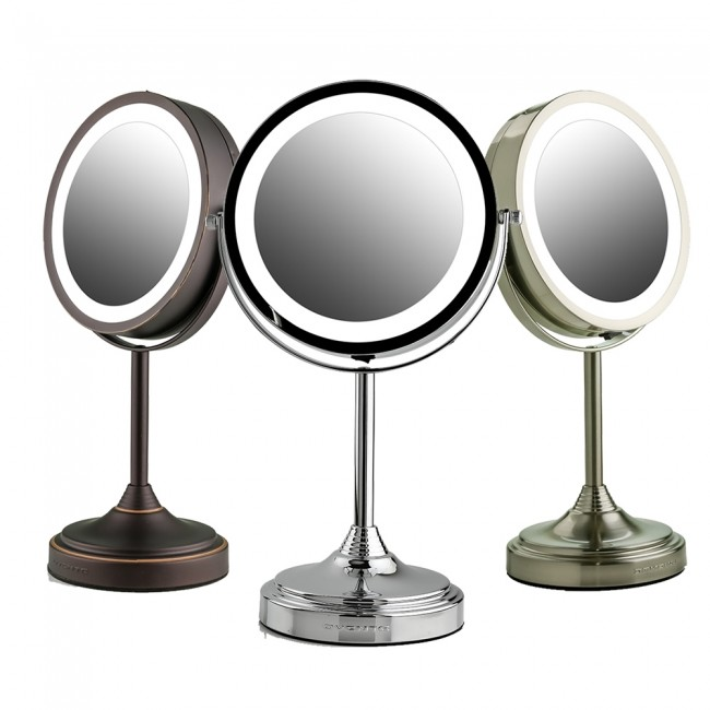 Ovente Tabletop Vanity Mirror with Lights 7 Inches (MCT70 Serie
