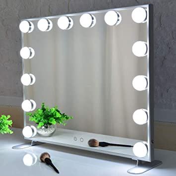 Amazon.com: BEAUTME Vanity Mirror with Lights,Hollywood Lighted .