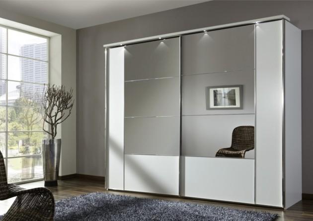 17 Irresistible Closet Designs With Mirror Doo