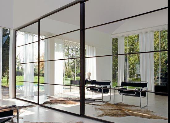 35+ Modern Designs Of Wardrobes | Sliding wardrobe doors, Mirrored .