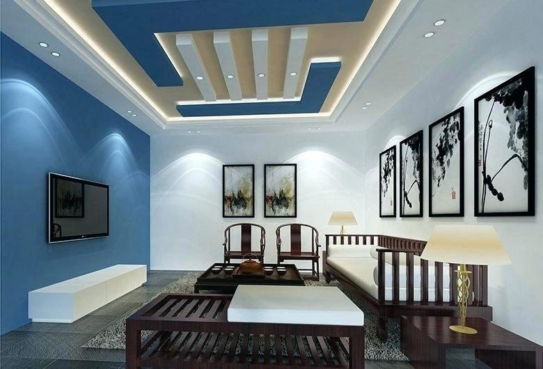 New Gypsum Ceiling Design Living Room – Saltandblu