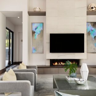 75 Beautiful Modern Living Room Pictures & Ideas - June, 2020 | Hou