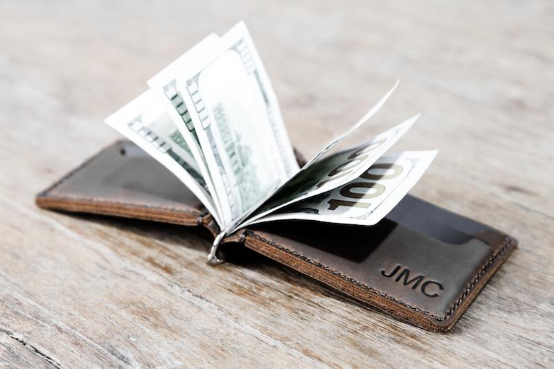 American Flag Money Clip Wallet [Handmade] [Custom] [Free Shippin