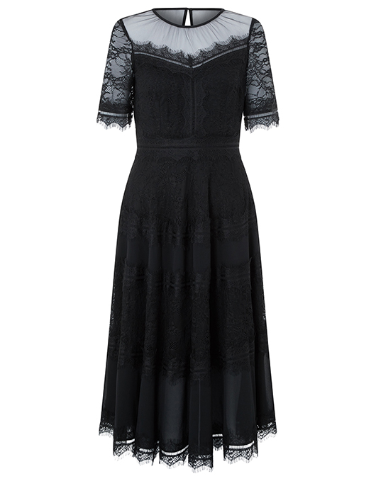 Clarissa Lace Dress | Black | UK 10 / US 6 / EU 38 | 4425740110 .