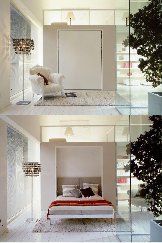 Best of: Modern Murphy Beds (With images) | Modern murphy beds .