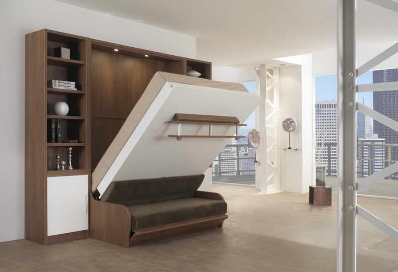 45 Unique And Crazy Murphy Bed Decorating Ideas > Detectvi