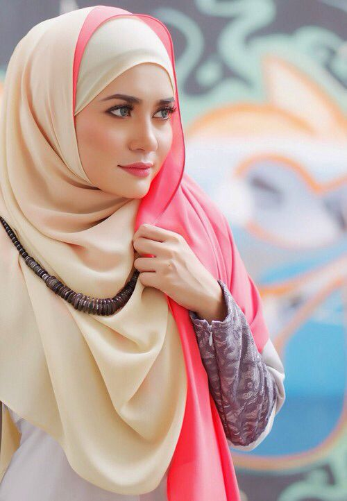Hijab fashion | Beautiful hijab, Hijab designs, Hijab fashi