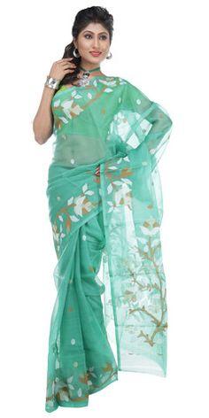 76 Best Muslin Silk Sarees images   Silk sarees, Muslin, Mugh