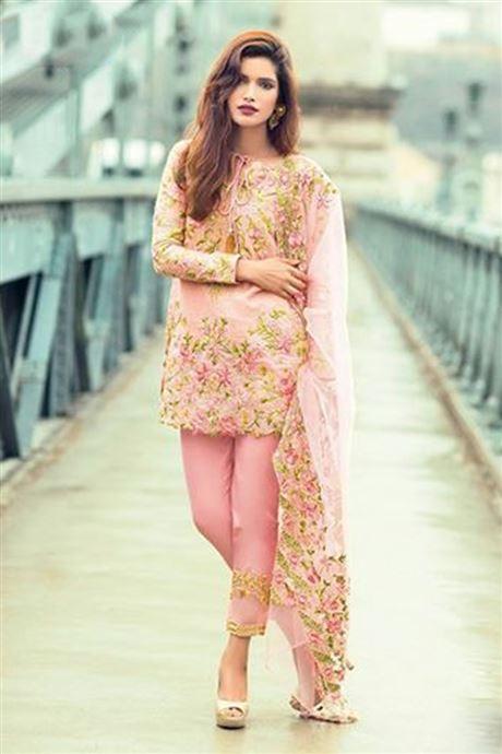 Lawn Cotton Designer Net Salwar Kameez Suits Wholesaler In USA .
