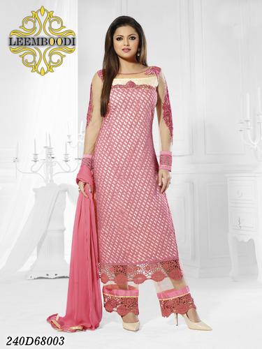 Net Salwar Suit Designs