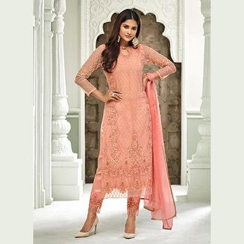 Ramzan Eid Special Designer Hand Work Net Salwar Suits Wholesale .