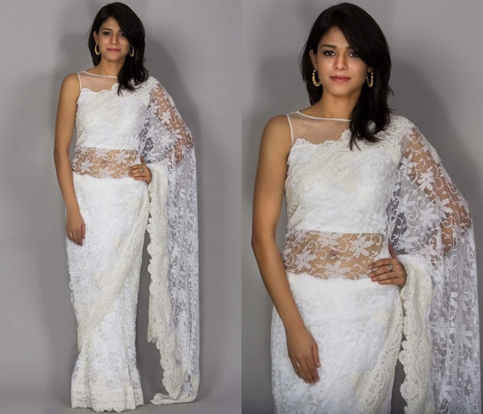 The Ultimate Latest Blouse Designs To Try With Net Sarees! • Keep .