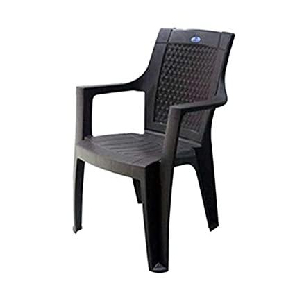 Nilkamal Rosa Plastic Chair (Rust Brown): Amazon.in: Electroni