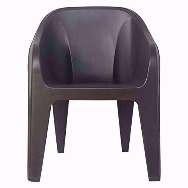 Buy Nilkamal EEEZY Chair (Brown)-Sabka Sev