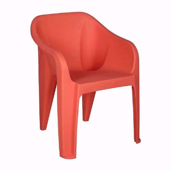 Nilkamal EEEZY Chair (Peach Color) - Wholesale Price-Sabka Sev
