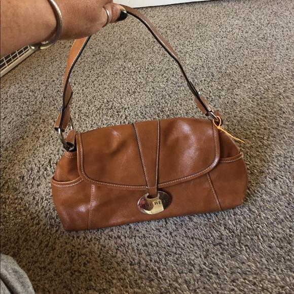 Nine West Bags | Brown Leather Purse | Poshma