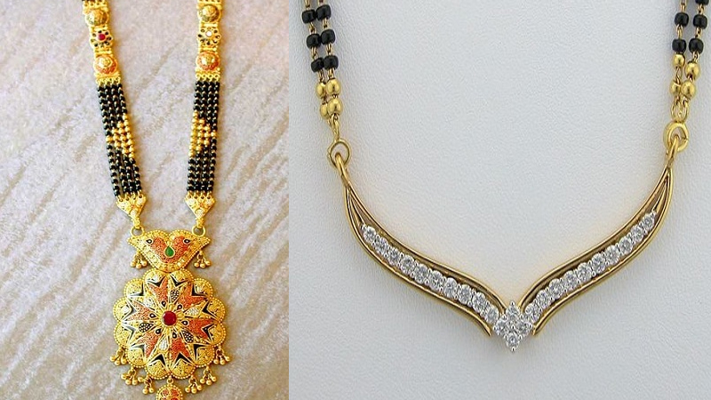 15 Traditional Indian Mangalsutra Designs with Pictures | Styles .