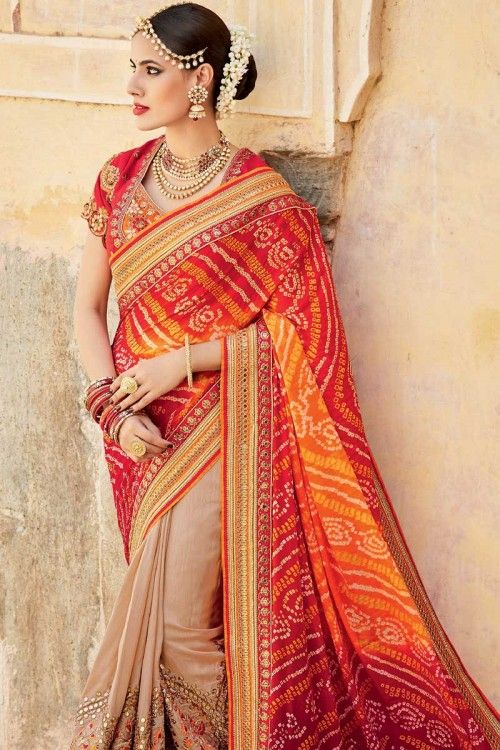 Pin by UrbanGems on North Indian Bridal Dresses | Saree trends .