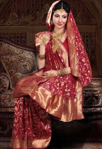 North Indian Sarees - These Sarees Come With Eye-Catching Desig