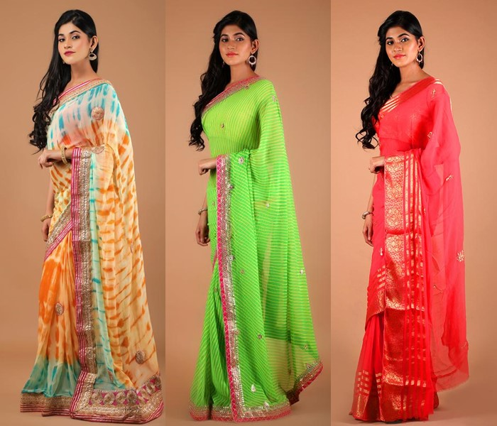 This Brand Has Prettiest North Indian Style Sarees! • Keep Me Styli