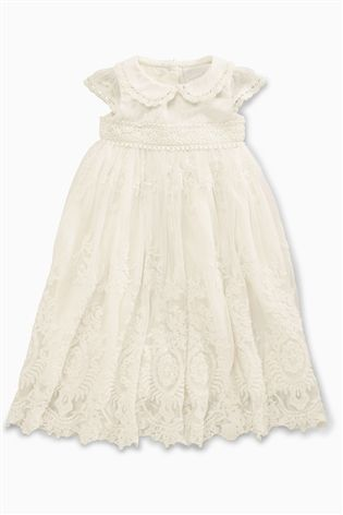 Buy Ecru Vintage Occasion Dress (0mths-2yrs) from the Next UK .