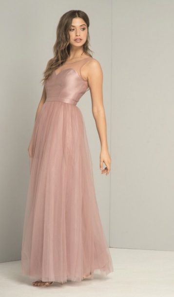 dress, pink, prom dress, long, beautiful, special occasion dress .