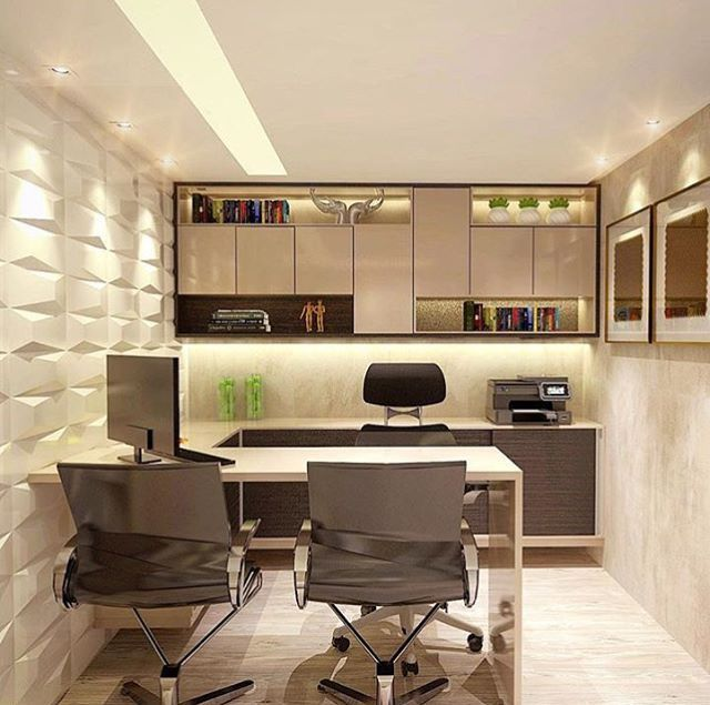 Top 10 Stunning Home Office Design (With images) | Small office .