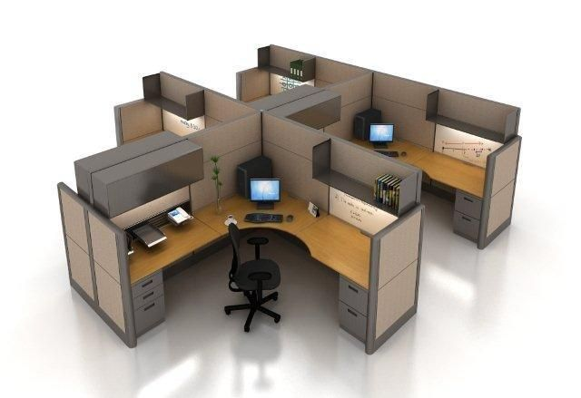 Selecting The Right Office Cubicle Wall Height (With images .