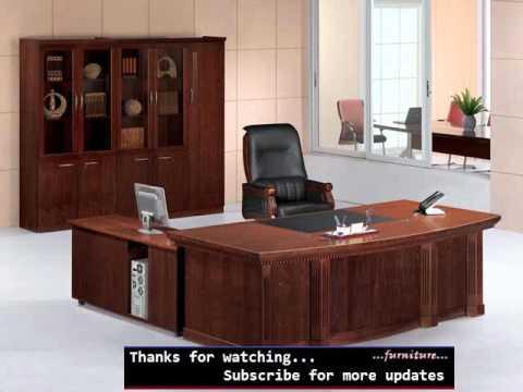 Modern Executive Office Furniture Design Ideas Romance - YouTu