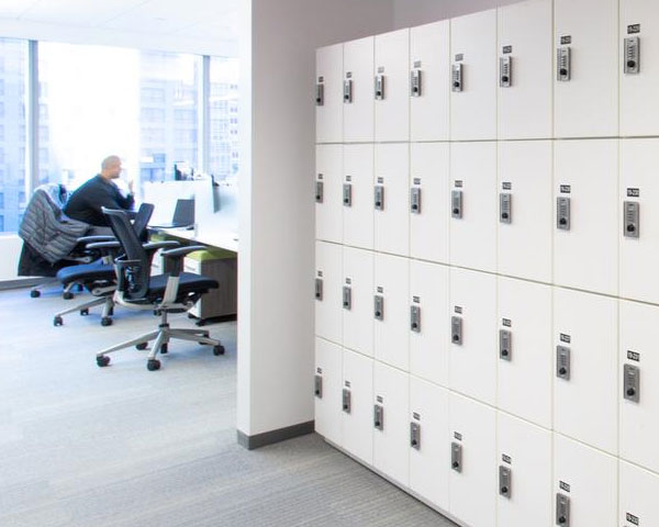 Day Use Lockers - Office lockers - MOTUS Space Solutio