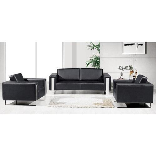 Black 4 Seater Modern Office Sofa, Rs 10000 /seat JRC Home Decor .