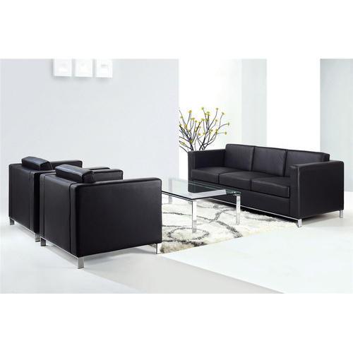 Black Office Sofa Set, डिजाइनर सोफा सेट - Chennai .