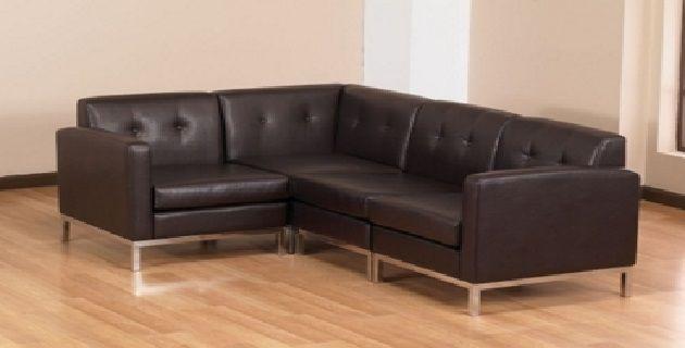 Modern L Shaped Sofa Designs (With images) | L shaped sofa desig