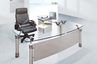 modernglassdesk (With images) | Office furniture desi