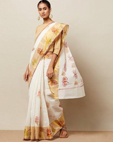Celebrate Onam Wearing a Gorgeous Kerala Saree! 10 Onam Special .