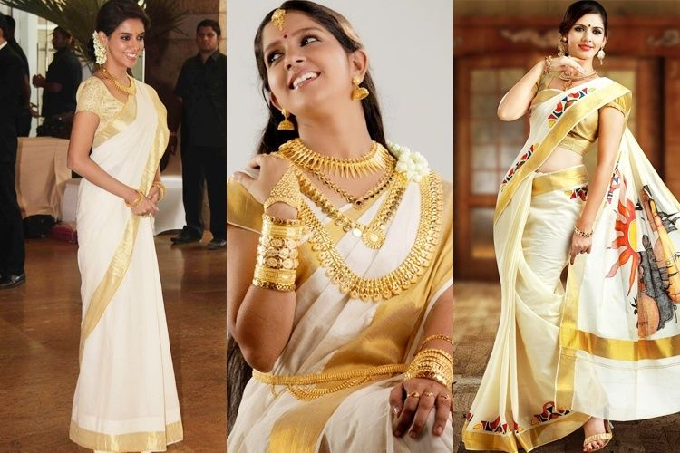 Onam Sarees – Kerala's Best Kept Secret For Onam Celebrations .