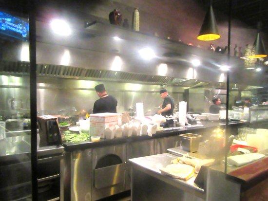 Open Kitchen Design Restaurant, Kirin Chinese Restaurant, Berkeley .