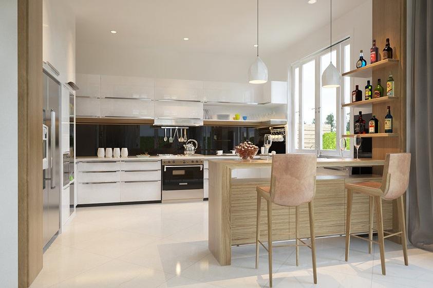 large open kitchen design | Interior Design Idea