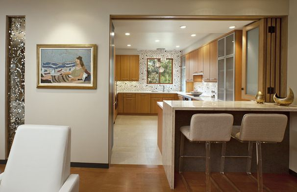 Have your open kitchen and close it too. Ideas for partially open .