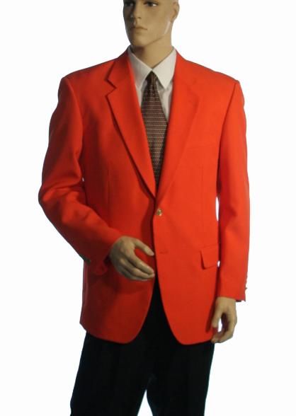 Orange Blazers