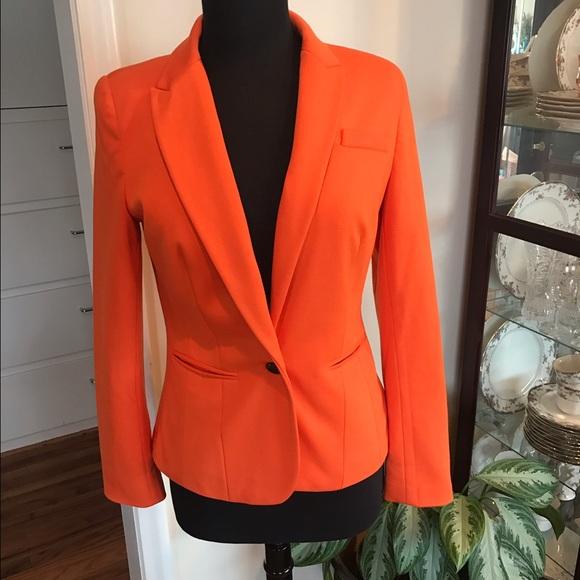 jcpenney Jackets & Coats | Jcpenny Womens Orange Blazer | Poshma